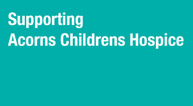 Acorns Children's Hospice Trust is a registered charity, offering a network of care and support to life-limited and life-threatened children and their families across the West Midlands and part of the South West of England