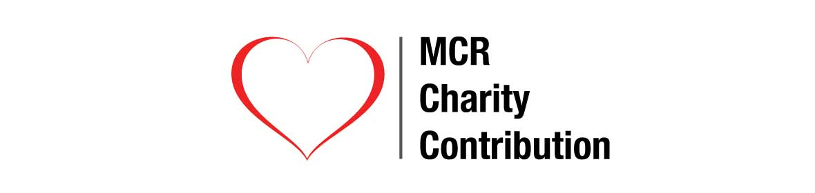 Whenever you see the charity contribution symbol, will we contribution a percentage of the sale to one of our supported charities.